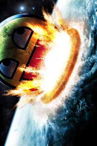 wallpaper iPhone Smiley Armageddon