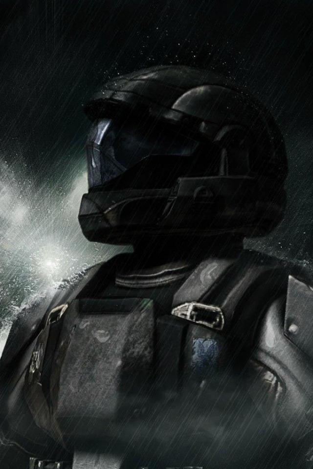 wallpaper iPhone Halo ODST