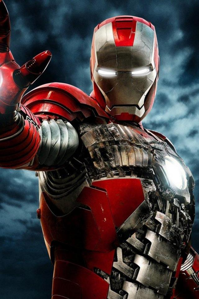 wallpaper iPhone Iron Man 2