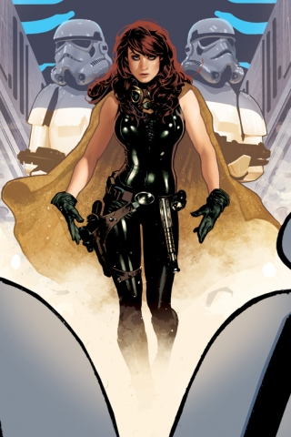 wallpaper iPhone Mara Jade
