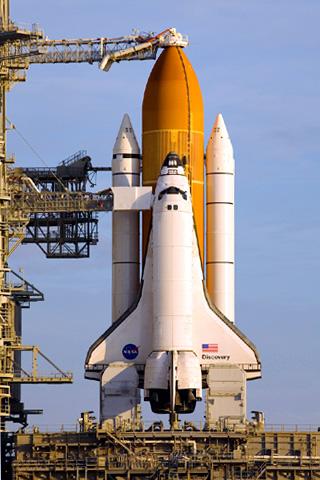 wallpaper iPhone Space Shuttle