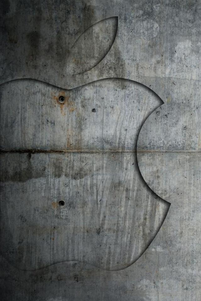 wallpaper iPhone Concrete Apple