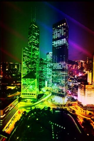 Wallpaper Iphone City Lights 1297