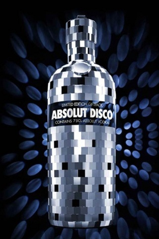 wallpaper iPhone Absolut Disco