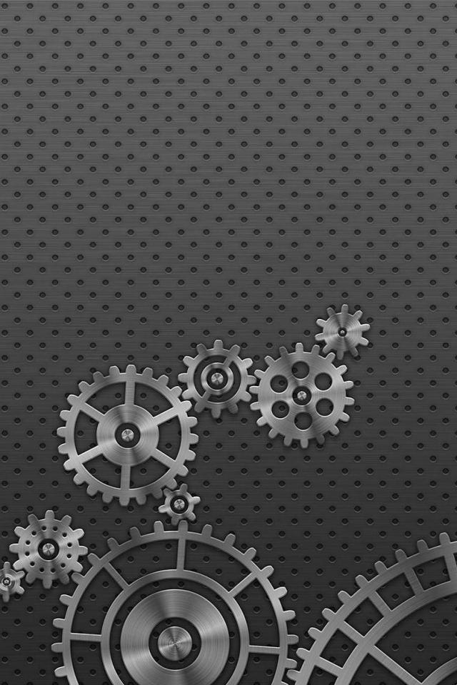 wallpaper iPhone Gears