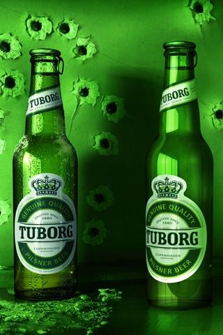 wallpaper iPhone Tuborg Beer