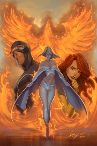 wallpaper iPhone X-Men