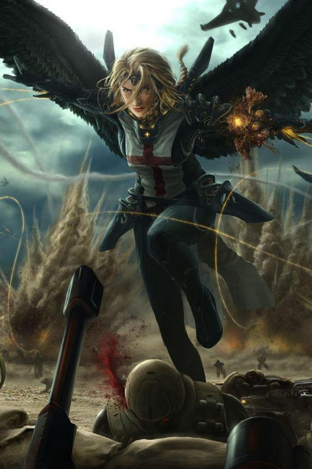 wallpaper iPhone Valkyrie