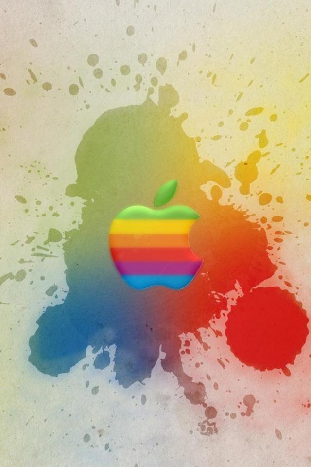 wallpaper iPhone Apple Splash