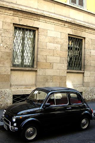 wallpaper iPhone Fiat 500