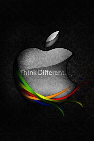 wallpaper iPhone Think Different