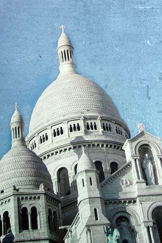 wallpaper iPhone Sacre-Coeur