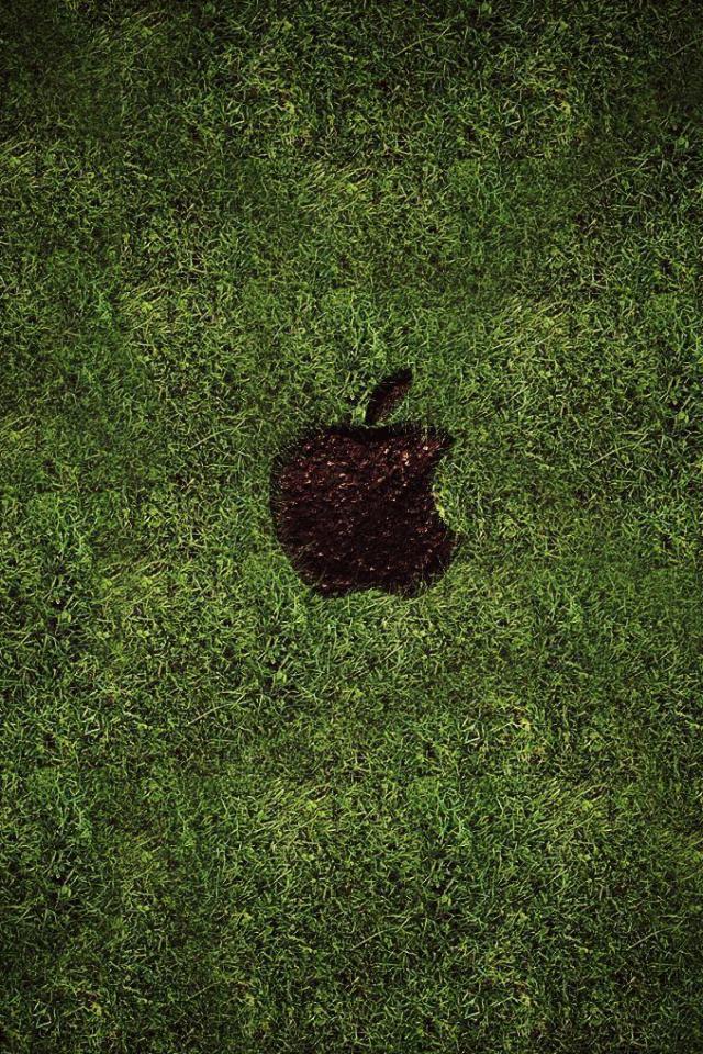 wallpaper iPhone Apple Lawn