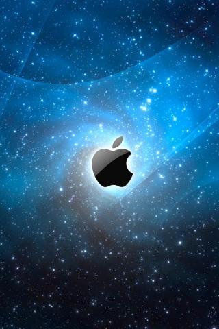 wallpaper iPhone Space Apple