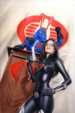 wallpaper iPhone Cobra Commander and Baroness
