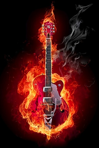 Wallpaper Iphone Hot Guitar 2466