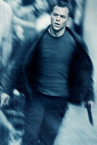wallpaper iPhone Jason Bourne
