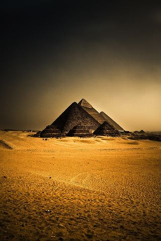 wallpaper iPhone The Pyramids