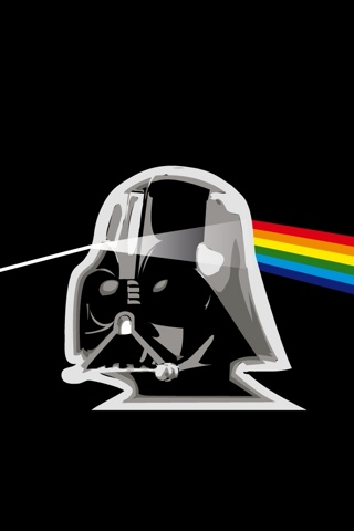 wallpaper iPhone Dark Side of the Force