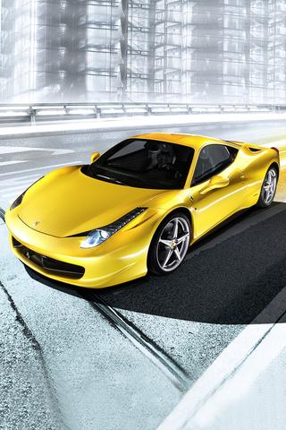 Wallpaper iPhone Ferrari 458 Italia 851