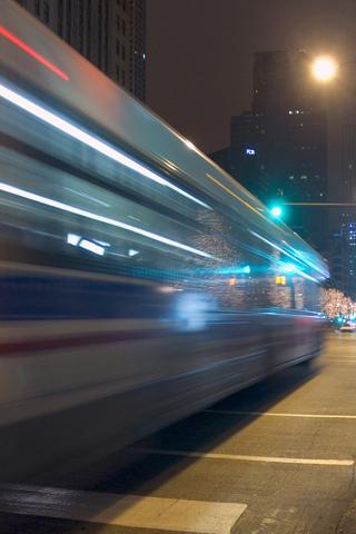 wallpaper iPhone City Bus