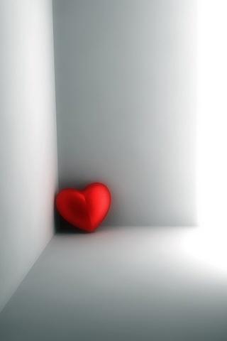 wallpaper iPhone Corner Of My Heart
