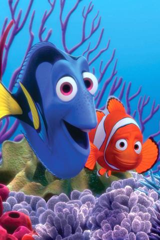 wallpaper iPhone Finding Nemo