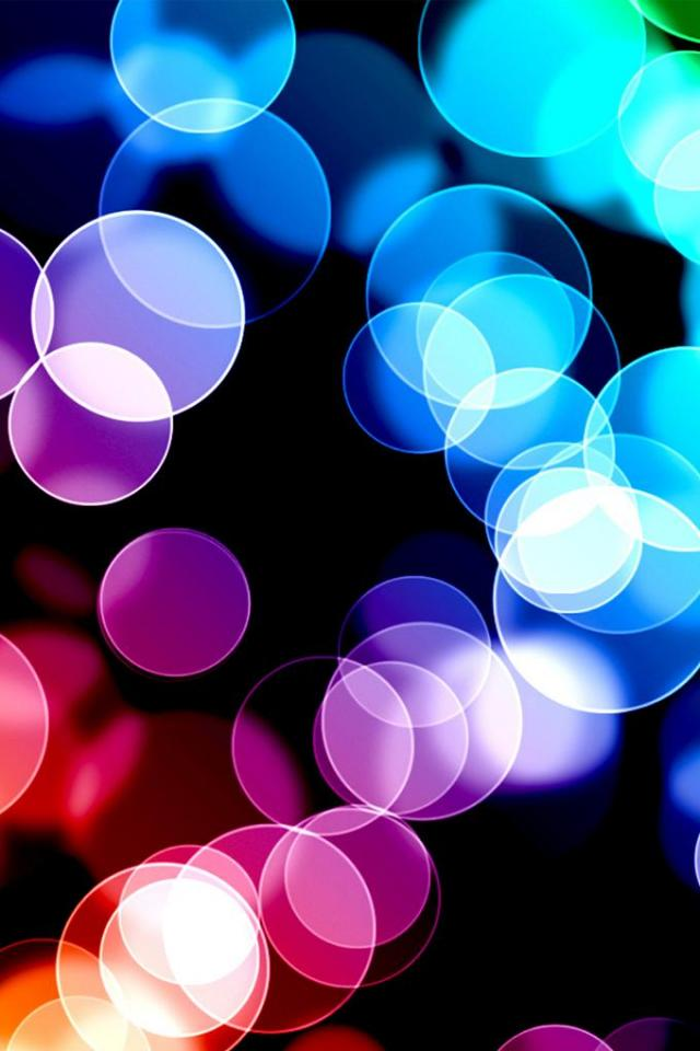 wallpaper iPhone Colored Circles