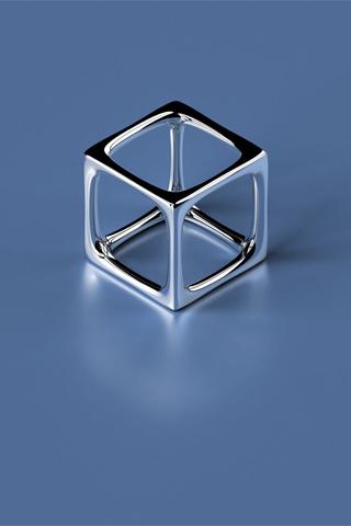 wallpaper iPhone Mercury Cube