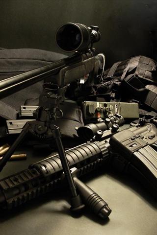 wallpaper iPhone M40A3 Sniper Rifle