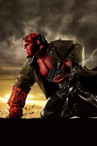 Wallpaper Iphone Hellboy 4287