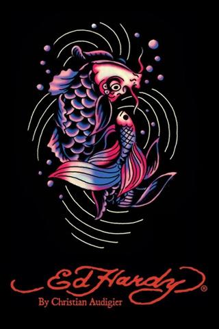 Wallpaper IPhone Ed Hardy Fish 4150