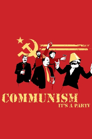 wallpaper iPhone Communist Party