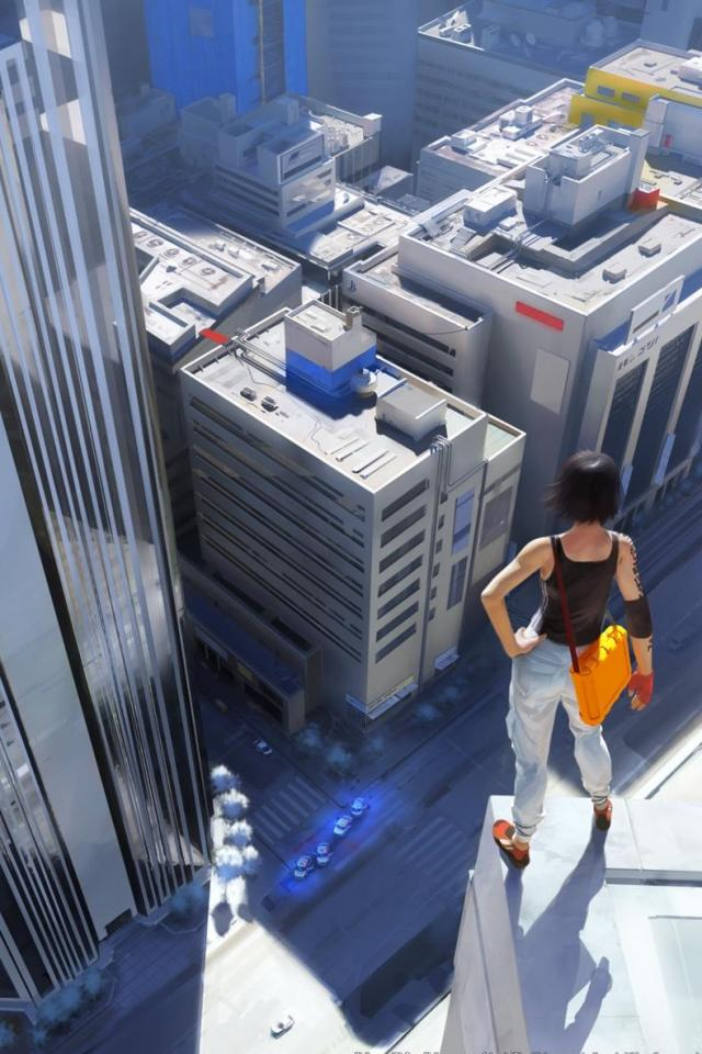 wallpaper iPhone Mirrors Edge