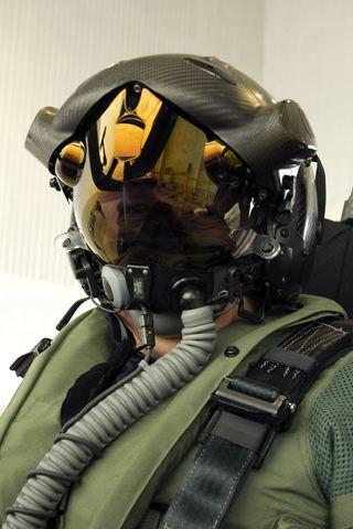 wallpaper iPhone F-35 Pilot