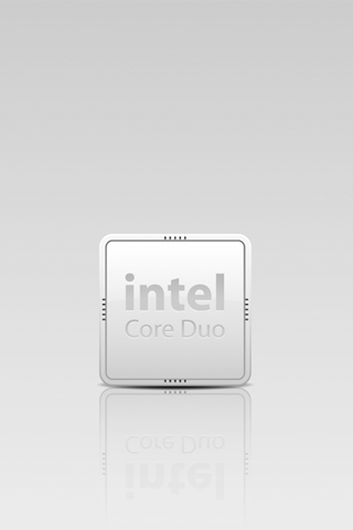 wallpaper iPhone Intel Core Duo