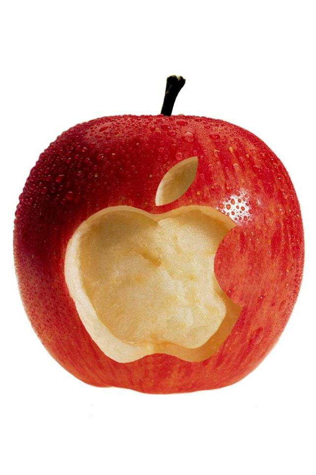 wallpaper iPhone Juicy Apple