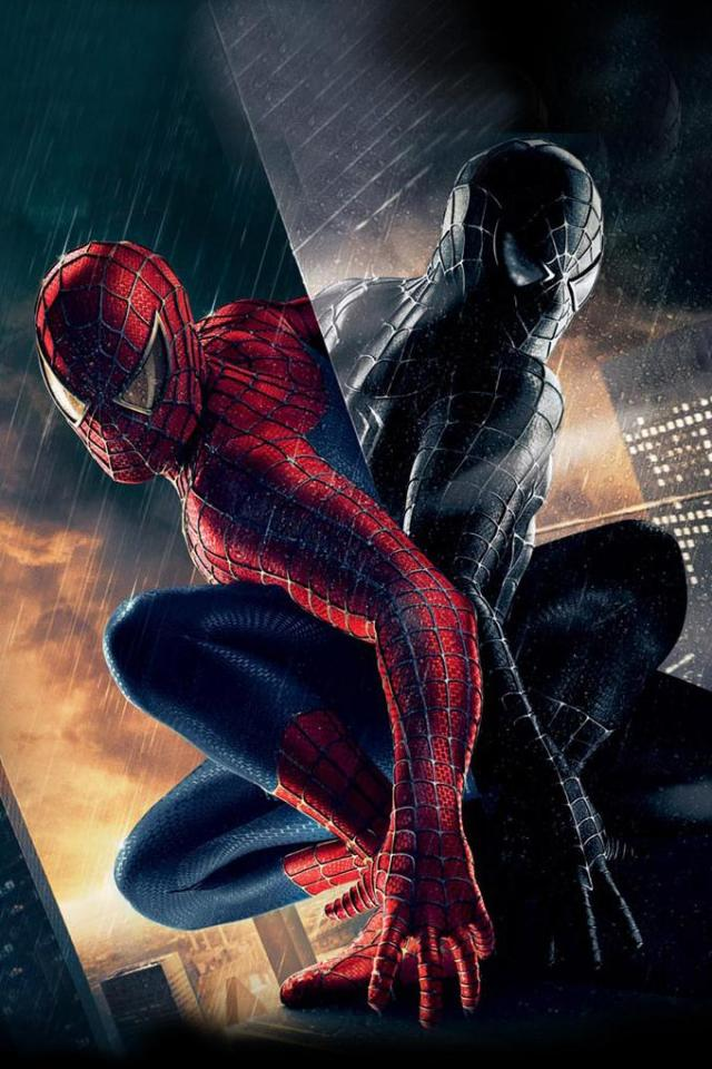 wallpaper iPhone Spider-Man 3