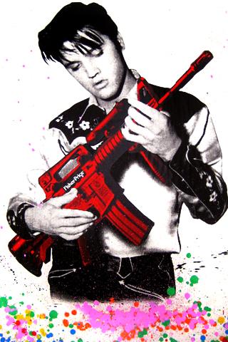 wallpaper iPhone Elvis