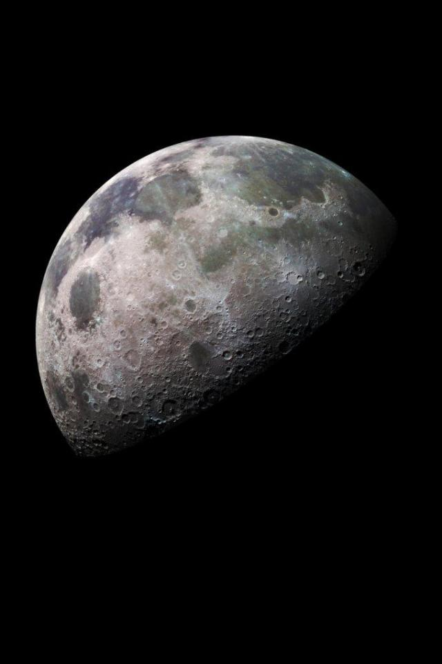 wallpaper iPhone Luna
