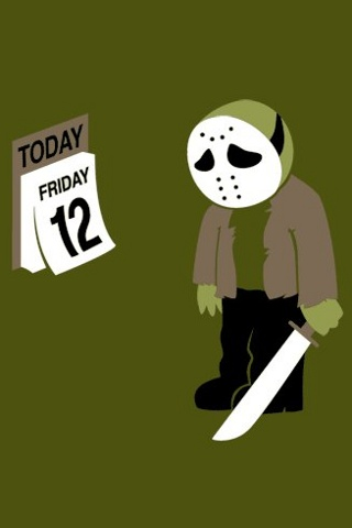 wallpaper iPhone Friday the 12th
