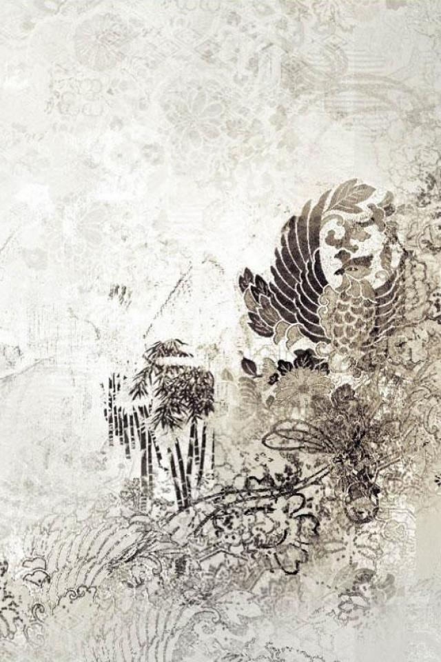 wallpaper iPhone Chinese Print