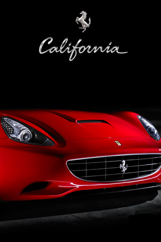 wallpaper iPhone Ferrari California