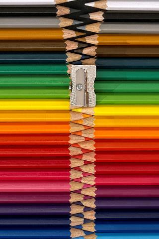 Wallpaper iPhone Pencil Zipper 526