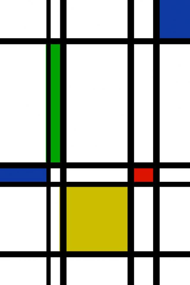 wallpaper iPhone Mondrian