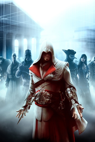 wallpaper iPhone Assassin's Creed