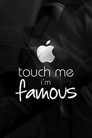 wallpaper iPhone Touch Me
