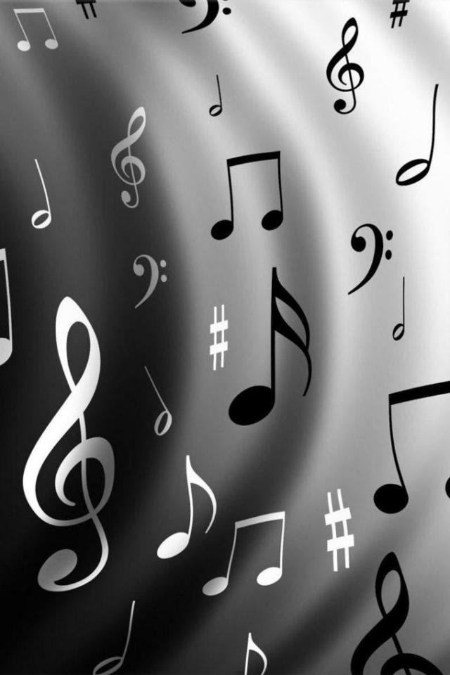 wallpaper iPhone Music Notes