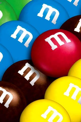 wallpaper iPhone M&Ms