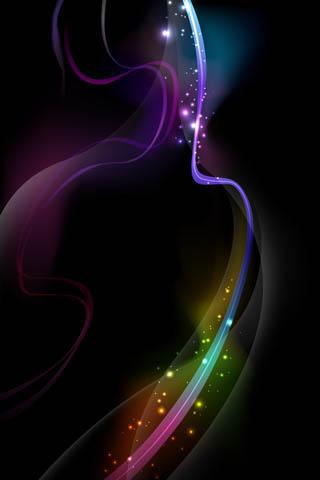 wallpaper iPhone Color Sparkle